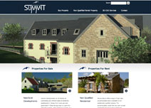 Summit Developments  Web Design