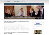 Stephen Platt & Associates  Web Design