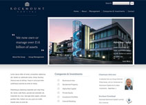 Rockmount Capital  Web Design